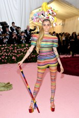 Cara Delevingne in Dior Haute Couture al MET Gala, NY