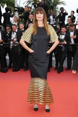 Caroline de Maigret in Chanel alla The Dead Don't Die premiere, Cannes Film Festival