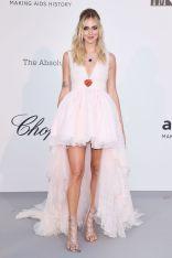 Chiara Ferragni in Giambattista Valli x H&M all'AmfAR Gala, Cannes