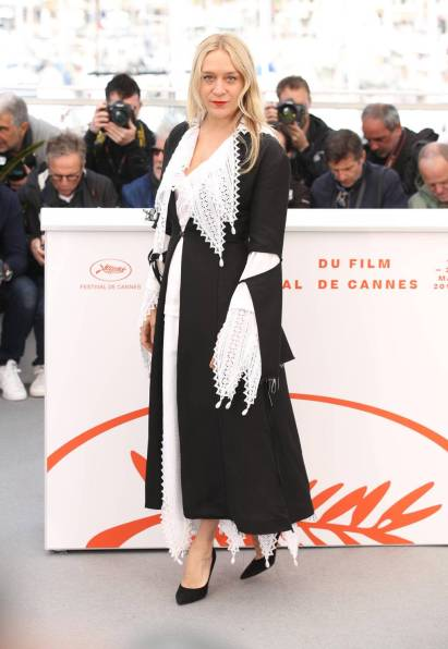 Chloe Sevigny in Loewe al The Dead Don't Die photocall, Cannes Film Festival