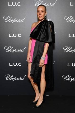 Chloe Sevigny in Miu Miu al Cannes Film Festival Red Carpet 2019