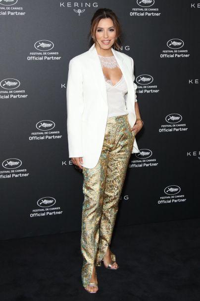 Eva Longoria al Kering Women in Motion Talk, Cannes FIlm Festival