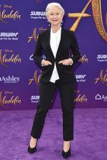 Helen Mirren alla premiere of Aladdin, LA