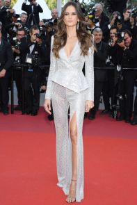 Izabeli Goulart in Zuhair Murad al Cannes Film Festival