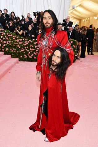 Jared Leto in Gucci al MET Gala, NY