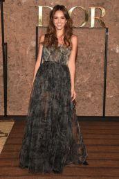 Jessica Alba in Dior al Christian Dior Couture SS 2020 cruise collection show, Morocco