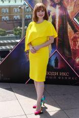 Jessica Chastain al Dark Phoenix photo call, Moscow