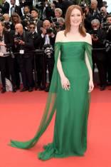Julianne Moore in Christian Dior Haute Couture alla The Dead Don't Die premiere, Cannes Film Festival