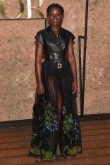 Lupita Nyong'o in Dior al Christian Dior Couture SS 2020 cruise collection show, Morocco