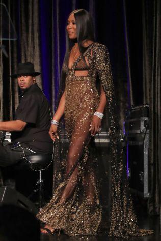 Naomi Campbell all'American Icon Awards Gala