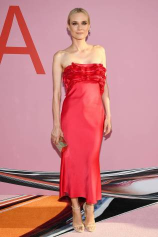 Diane Kruger in Jason Wu ai The CFDA Awards, New York