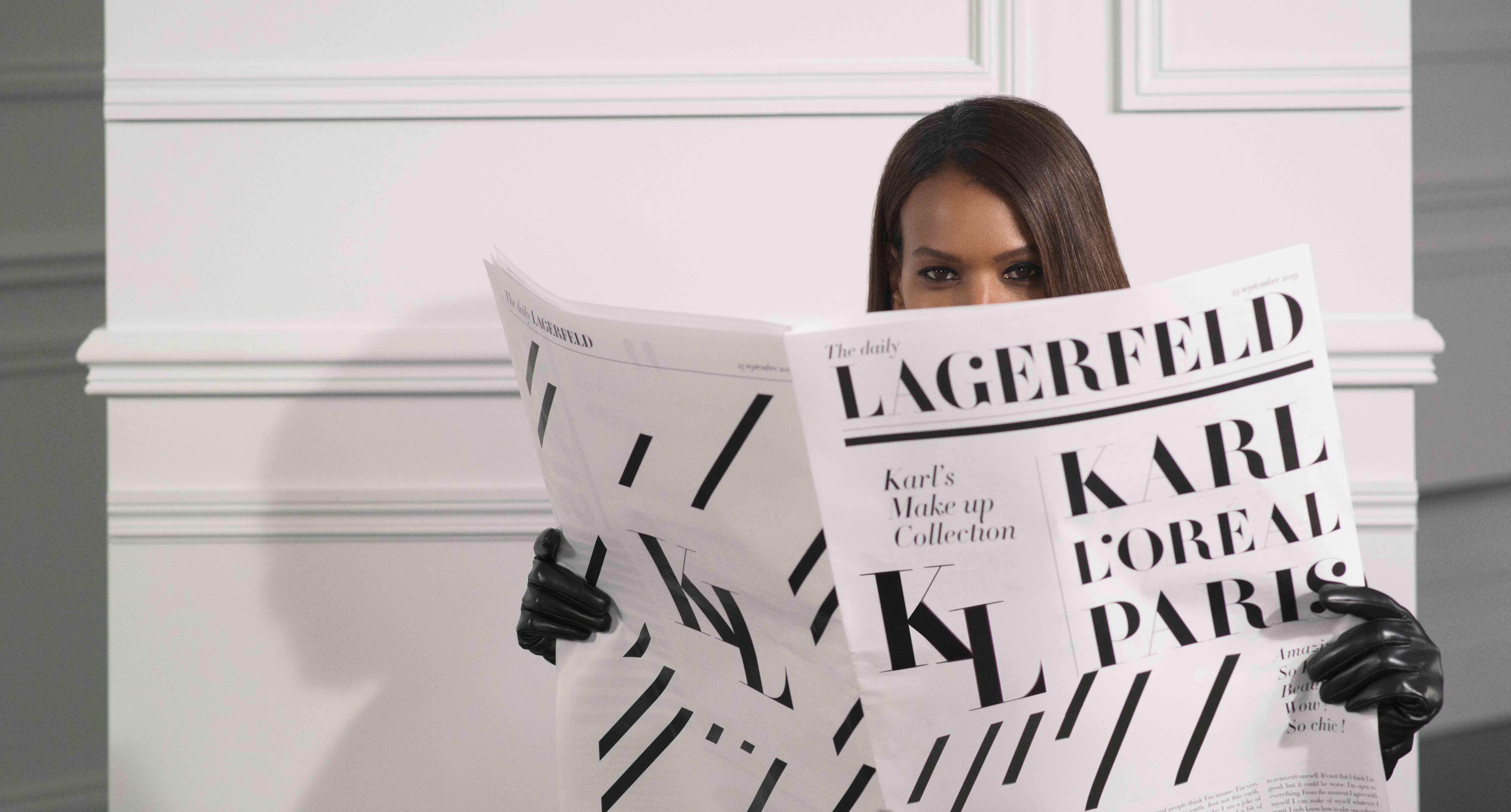 Arriva KARL LAGERFELD X L'Oréal Paris
