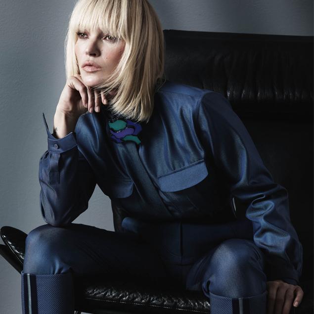 Kate Moss è il volto di Giorgio Armani
