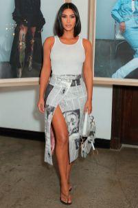 Kim Kardashian in Dior al Levi's event, Los Angeles