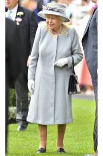 La Regina Elisabetta II al Royal Ascot