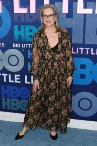 Meryl Streep in Oscar de la Renta alla premiere of Big Little Lies 2, NY
