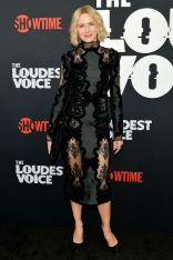 Naomi Watts in Erdem alla premiere of The Loudest Voice, NY