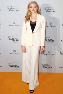 Natalie Dormer ai Veuve Cliquot Busines Woman Awards