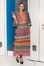 Pixie Geldof in Zimmermann allo store Zimmermann, Capri