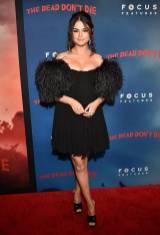 Selena Gomez in Celine alla The Dead Don't Die Premiere, New York