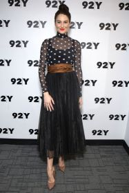 Shailene Woodley in Fendi al Glamour's Samantha Barry Big Little Lies