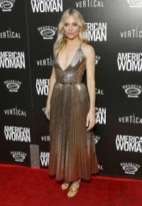Sienna Miller in Ralph Lauren all'American Woman Premiere, New York