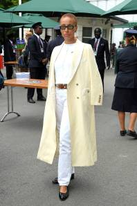 Adwoa Aboah a Wimbledon, London