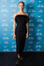 Adwoa Aboah in 16 Arlington design al Nike x Gurls Talk premiere of Spit Fire, London.