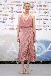 Amber Heard in Cloe Cassandro al Giffoni Film Festival