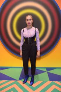 Isamaya Ffrench all'Hysterical hosted by Gary Card opening, London