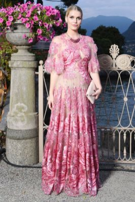 Lady Kitty Spencer ad un evento Bulgari, Lago Como.