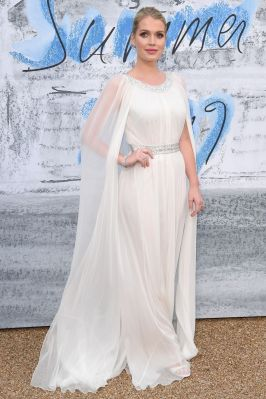 Lady Kitty Spencer al The Serpentine Summer party 2019, London