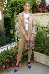 Sabrina Percy con gioielli Missoma al Missoma summer party, London