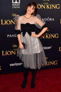 Zooey Deschanel alla The Lion King World Premiere, Hollywood