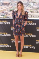 Margot Robbie in LHD at the Once Upon a Time in... Hollywood photocall, Rome