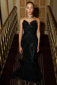 Adwoa Aboah in Vivienne Westwood al Casita Maria's Fiesta, New Y0rk