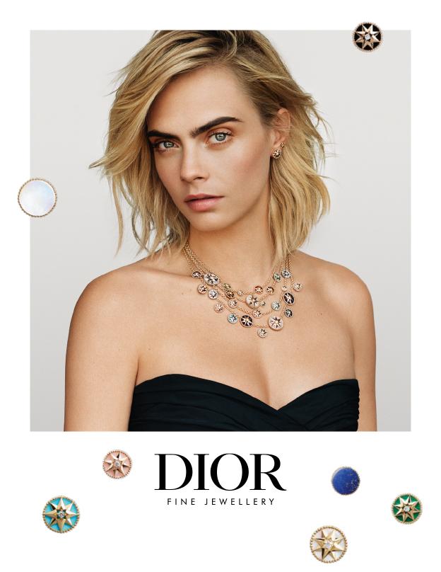 Dior svela la campagna con Cara Delevingne