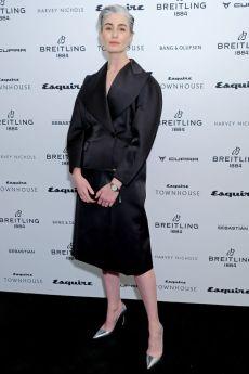 Erin O'Connor al lancio di Esquire Townhouse, London