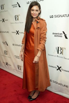 Katie Holmes all'American Ballet.