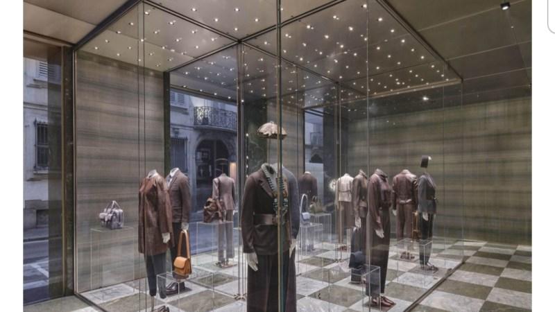 La Boutique Armani trasloca: nuovo anno, nuova sede