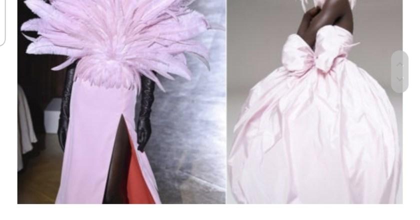 I trend dalla Paris Haute Couture fanno sognare tra guanti, piume e abiti principeschi