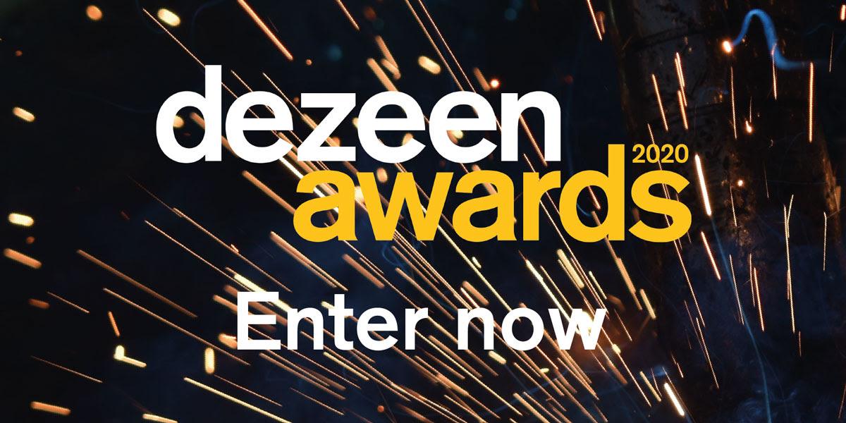 Sono aperte le iscrizioni per i Dezeen Awards 2020!