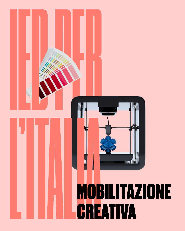 IED per l'ITALIA: mobilitazione creativa per rilancio del Paese