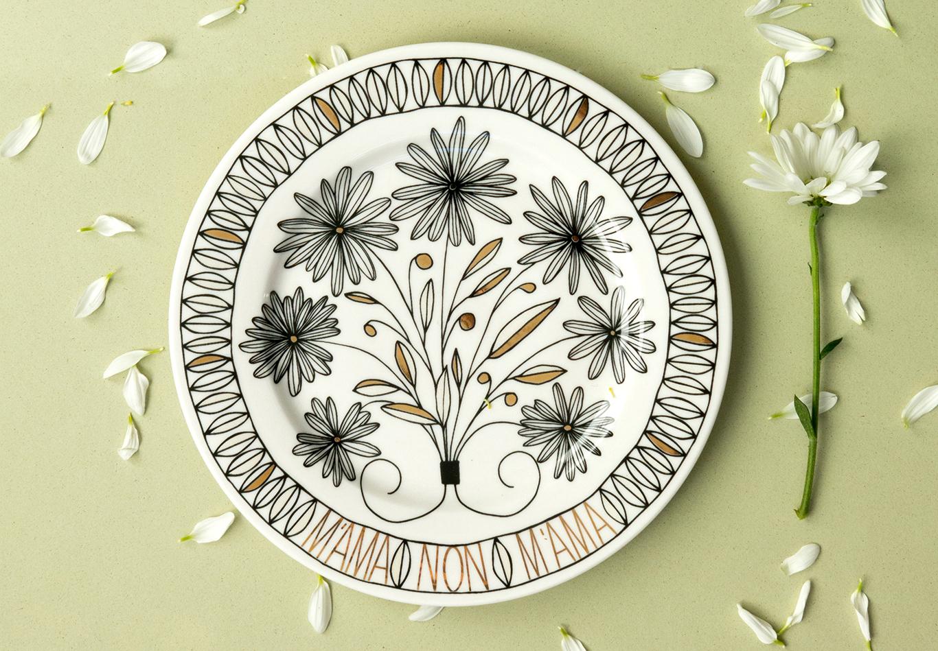ilaria.i presenta le Collezioni  di piatti Summer e Bouquet pensati per la tavola estiva!