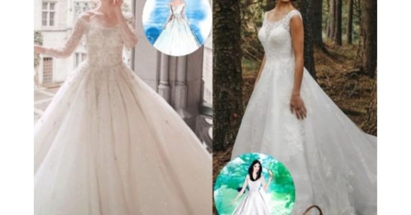 Arriva Disney fairy tale weddings, la linea di abiti da sposa ispirata alle principesse