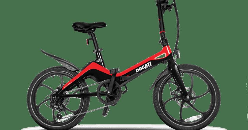 La nuova e-bike pieghevole DUCATI MG-20 in collaborazione con MT DISTRIBUTION