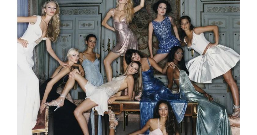 Claudia Shiffer ha curato la sua prima mostra fotografica dedicata alle modelle degli anni Novanta