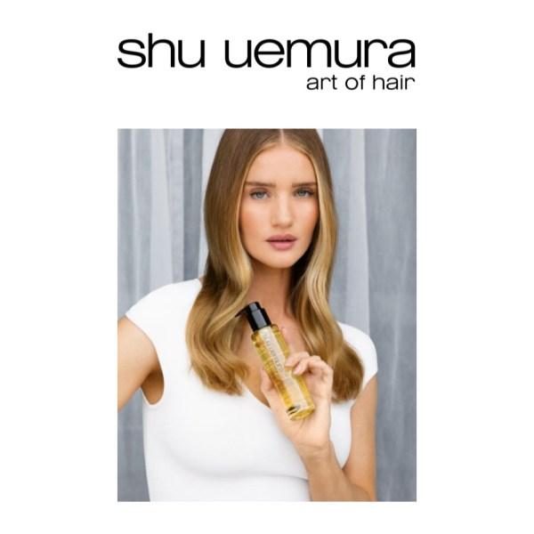 Rosie Huntington-Whiteley collabora con Shu uemura