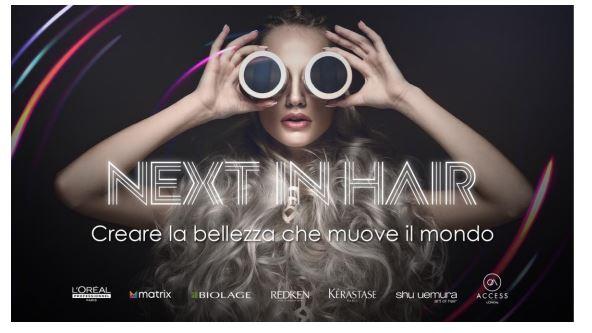 Arriva Next In Hair, l'evento de L'Oréal