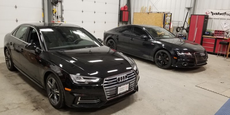 Grand Forks Audi A7 Smart Start Car Starter Installation